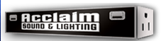Acclaim Sound And Lighting Coupon