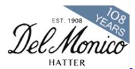 Delmonico Hatter Promo Codes