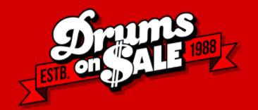 Drumsonsale Promo Codes