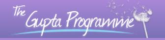 Gupta Programme Promo Codes