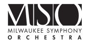 Milwaukee Symphony Orchestra Promo Codes