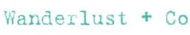 Wanderlust + Co Promo Codes